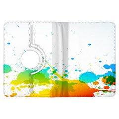 Colorful Abstract Kindle Fire Hdx Flip 360 Case by BangZart