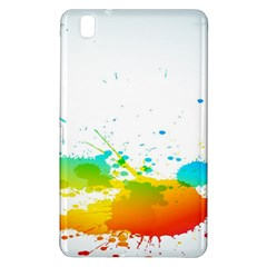 Colorful Abstract Samsung Galaxy Tab Pro 8 4 Hardshell Case by BangZart