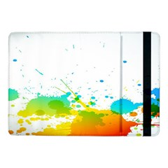 Colorful Abstract Samsung Galaxy Tab Pro 10 1  Flip Case by BangZart