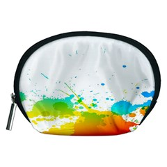 Colorful Abstract Accessory Pouches (medium)