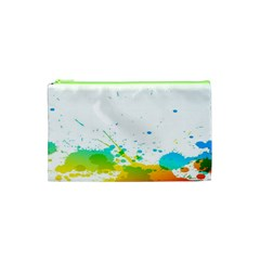 Colorful Abstract Cosmetic Bag (xs)
