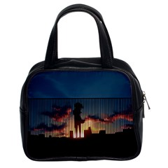 Art Sunset Anime Afternoon Classic Handbags (2 Sides) by BangZart