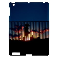 Art Sunset Anime Afternoon Apple Ipad 3/4 Hardshell Case by BangZart