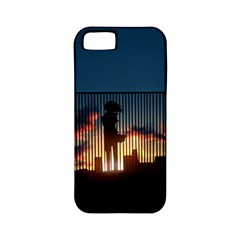 Art Sunset Anime Afternoon Apple Iphone 5 Classic Hardshell Case (pc+silicone) by BangZart