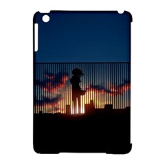 Art Sunset Anime Afternoon Apple Ipad Mini Hardshell Case (compatible With Smart Cover)