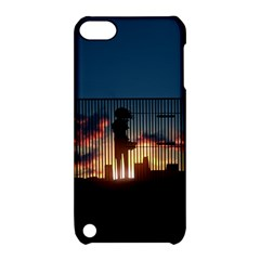 Art Sunset Anime Afternoon Apple Ipod Touch 5 Hardshell Case With Stand by BangZart