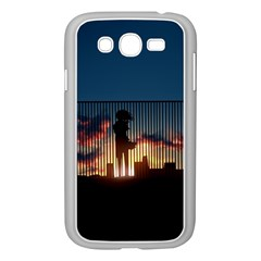Art Sunset Anime Afternoon Samsung Galaxy Grand Duos I9082 Case (white)