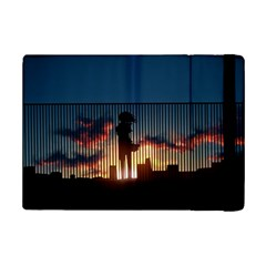 Art Sunset Anime Afternoon Ipad Mini 2 Flip Cases by BangZart