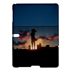 Art Sunset Anime Afternoon Samsung Galaxy Tab S (10 5 ) Hardshell Case  by BangZart