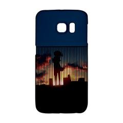 Art Sunset Anime Afternoon Galaxy S6 Edge