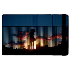 Art Sunset Anime Afternoon Apple Ipad Pro 9 7   Flip Case by BangZart