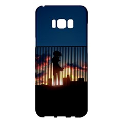 Art Sunset Anime Afternoon Samsung Galaxy S8 Plus Hardshell Case