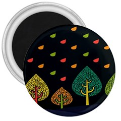 Vector Color Tree 3  Magnets by BangZart