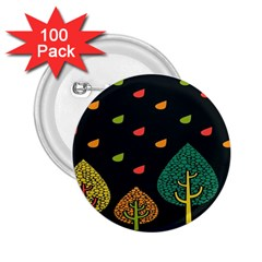 Vector Color Tree 2 25  Buttons (100 Pack)
