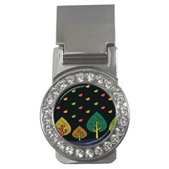 Vector Color Tree Money Clips (cz)  by BangZart