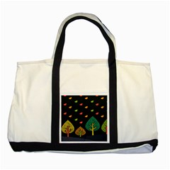 Vector Color Tree Two Tone Tote Bag by BangZart