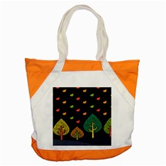 Vector Color Tree Accent Tote Bag