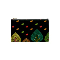 Vector Color Tree Cosmetic Bag (small)  by BangZart