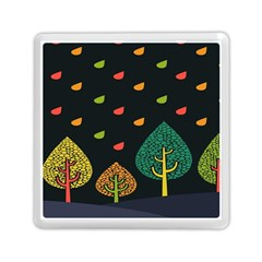 Vector Color Tree Memory Card Reader (square)