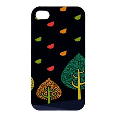 Vector Color Tree Apple Iphone 4/4s Hardshell Case by BangZart