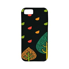 Vector Color Tree Apple Iphone 5 Classic Hardshell Case (pc+silicone) by BangZart