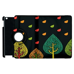 Vector Color Tree Apple Ipad 3/4 Flip 360 Case by BangZart