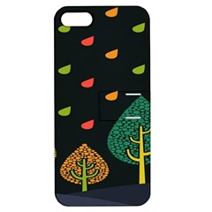 Vector Color Tree Apple Iphone 5 Hardshell Case With Stand by BangZart
