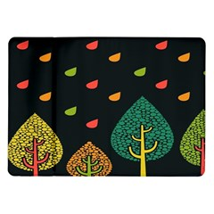 Vector Color Tree Samsung Galaxy Tab 10 1  P7500 Flip Case