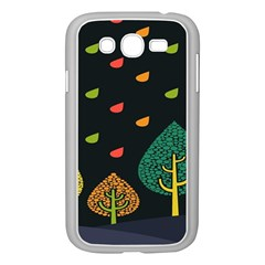 Vector Color Tree Samsung Galaxy Grand Duos I9082 Case (white) by BangZart