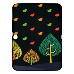 Vector Color Tree Samsung Galaxy Tab 3 (10 1 ) P5200 Hardshell Case  by BangZart
