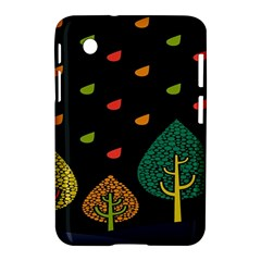 Vector Color Tree Samsung Galaxy Tab 2 (7 ) P3100 Hardshell Case  by BangZart
