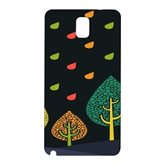 Vector Color Tree Samsung Galaxy Note 3 N9005 Hardshell Back Case
