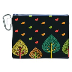 Vector Color Tree Canvas Cosmetic Bag (xxl) by BangZart