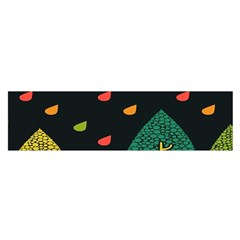 Vector Color Tree Satin Scarf (oblong)