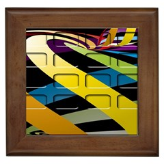 Colorful Docking Frame Framed Tiles by BangZart