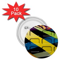 Colorful Docking Frame 1 75  Buttons (10 Pack) by BangZart