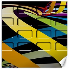 Colorful Docking Frame Canvas 16  X 16   by BangZart