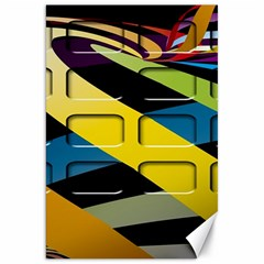 Colorful Docking Frame Canvas 20  X 30