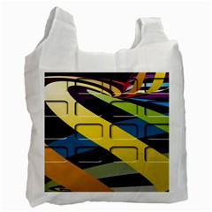 Colorful Docking Frame Recycle Bag (one Side)