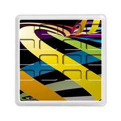 Colorful Docking Frame Memory Card Reader (square)  by BangZart