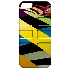Colorful Docking Frame Apple Iphone 5 Classic Hardshell Case