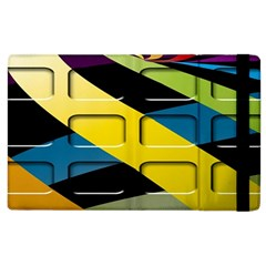 Colorful Docking Frame Apple Ipad 3/4 Flip Case by BangZart