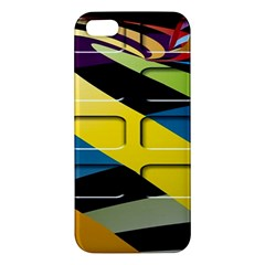 Colorful Docking Frame Apple Iphone 5 Premium Hardshell Case