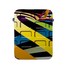 Colorful Docking Frame Apple Ipad 2/3/4 Protective Soft Cases by BangZart