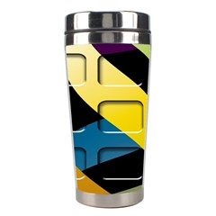 Colorful Docking Frame Stainless Steel Travel Tumblers by BangZart