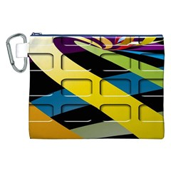 Colorful Docking Frame Canvas Cosmetic Bag (xxl) by BangZart