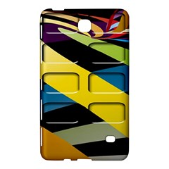 Colorful Docking Frame Samsung Galaxy Tab 4 (8 ) Hardshell Case