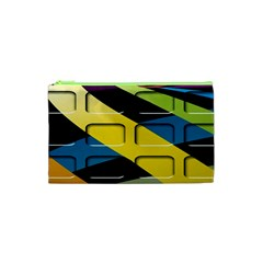 Colorful Docking Frame Cosmetic Bag (xs) by BangZart