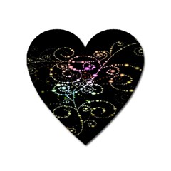 Sparkle Design Heart Magnet by BangZart