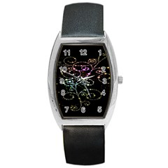 Sparkle Design Barrel Style Metal Watch